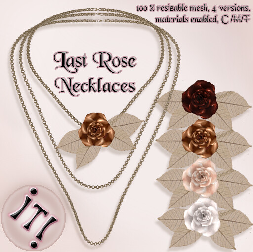 !IT! - Last Rose Necklaces Image
