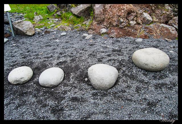 Piedras en Dritvík