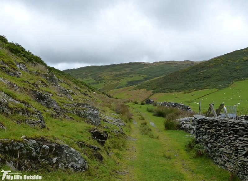P1150795 - Abergynolwyn to Castell y Bere