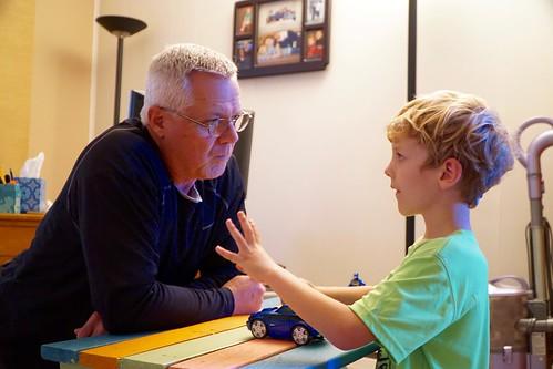 A conversation with Grandpa