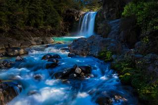 Tawhai Falls Swirl