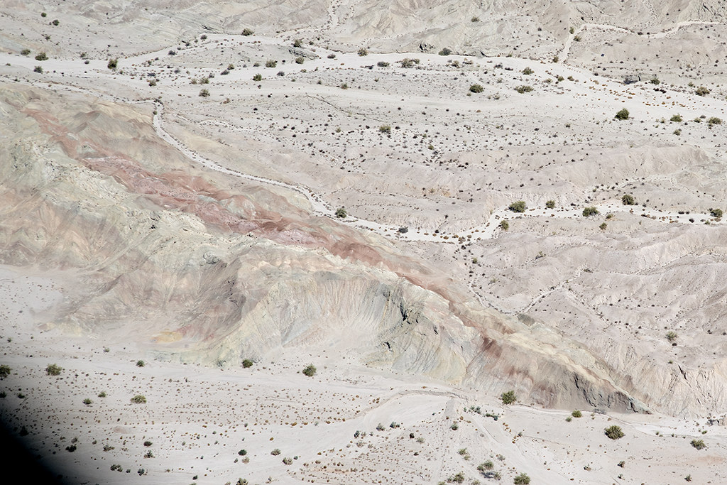 The San Andreas Fault, Mecca Hills, Riverside County, California