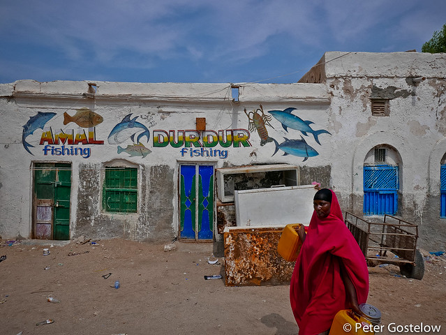Fish warehouse Berbera