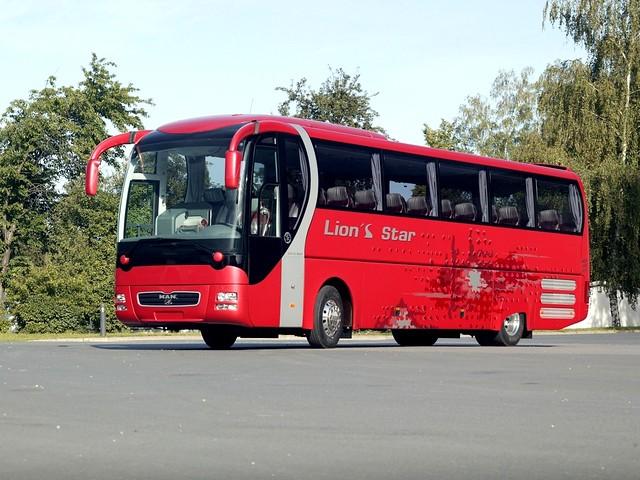 Туристический автобус MAN Lion's Star. 2003 год