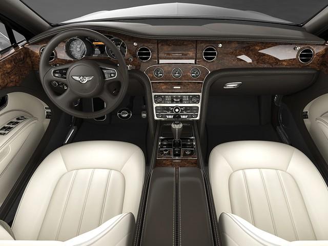 Салон Bentley Mulsanne II. 2010 – 2016 годы