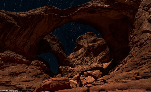 Double Arch - Night