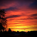 December Fire Sunrise, Phoenix by cobalt123