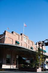 Historic Napa River Inn on a sunny day