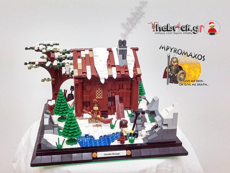 "[BuildtheBrick #2]: ""Greenland Santa House"" 23444355720_7b413dc9a8_c"