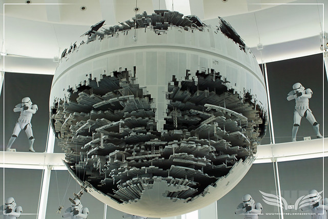 The Establishing Shot: STAR WARS VISIONS EXHIBITION - DEATH STAR II FROM RETURN OF THE JEDI - SKY GALLERY ROPPONGI HILLS MORI ARTS CENTER, TOKYO