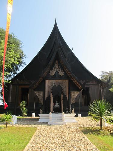 Chiang Rai: le musée Baandam, dit la Maison Noire