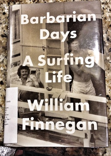 Book Cover - A Surfing Life by William Finnegan