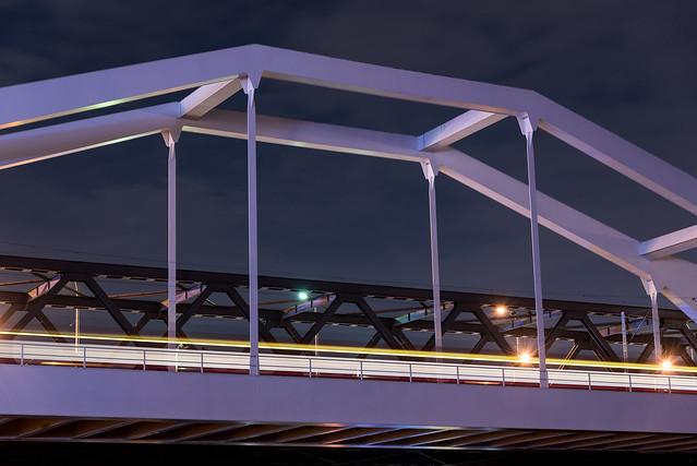 Konrad Adenauer Brücke in Ludwigshafen