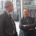 Achim Barchmann mit dem Generaldirektor Erweiterung der EU-Kommission, dem Schweden Christian Danielsson