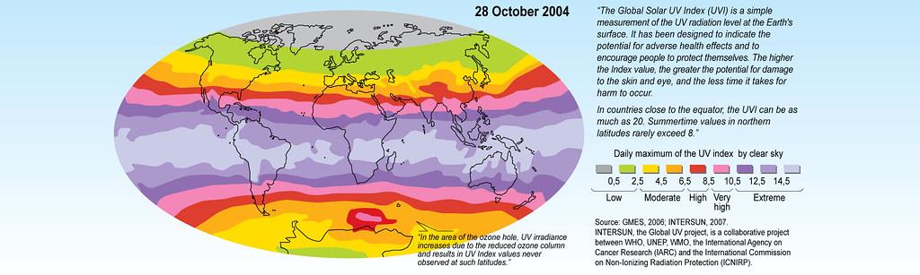uv index worldmap