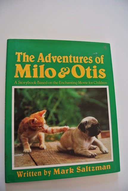 The Adventures Of Milo & Otis Book - Mark Saltzman