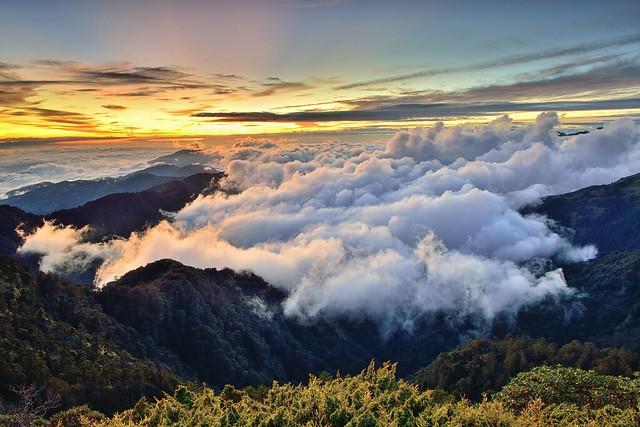 Sea of clouds, Mountain Hehuan 合歡山