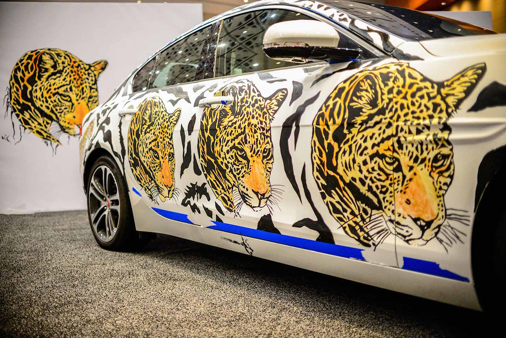 2017 Jaguar XE Art Car