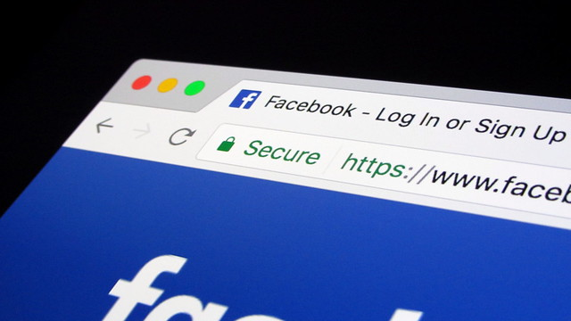 HTTPS connection Facebook