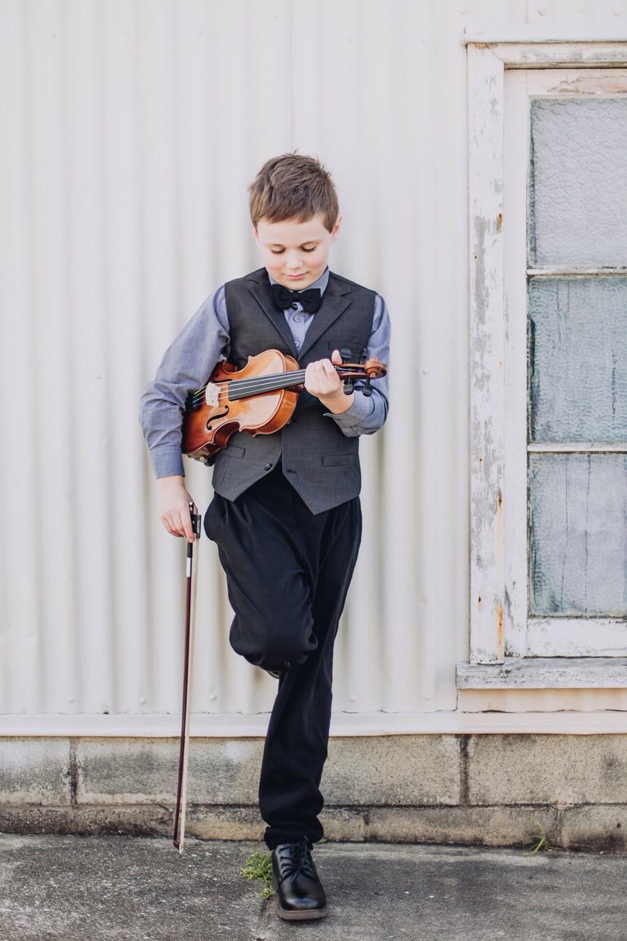 Kids Session - violin prop
