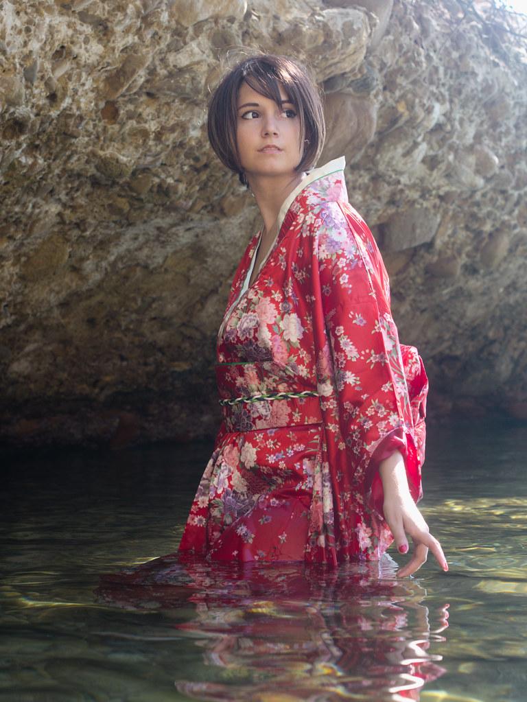 related image - Shooting Kimono - Meiko - Vocaloid - Parc du Mugel - La Ciotat - 2015-08-21- P1200026