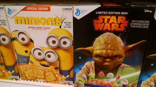 Cereals Based on Movies