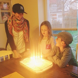 Liam turned 7 today! I think he will always remember this special birthday celebrated in Germany with our family that we don't get to see nearly enough! I am so in love with my brown eyed boy. Happy, happy birthday. You light up our lives!