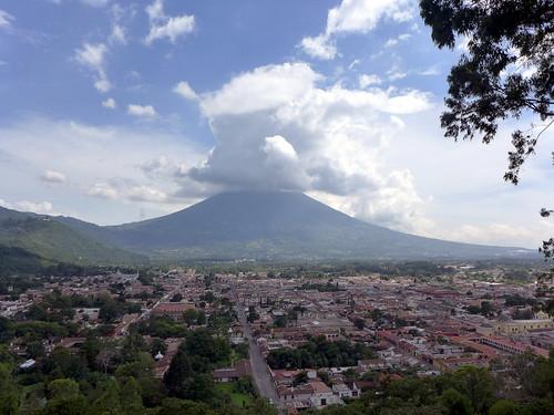 Volcan de l'agua - Antigua
