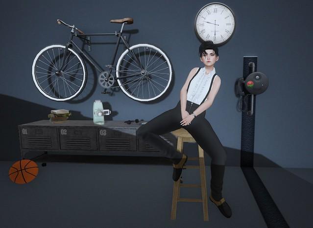 stool poses by oOo Studio @ GEN-Neutral