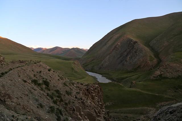 Boz-Zhalpak river