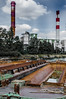 Industrial view from the barge by ericbaygon