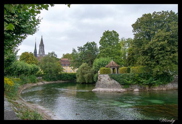 Suiza Alemania Lago Constanza Meersburg Unteruhldingen Salem - Jardín en Constanza