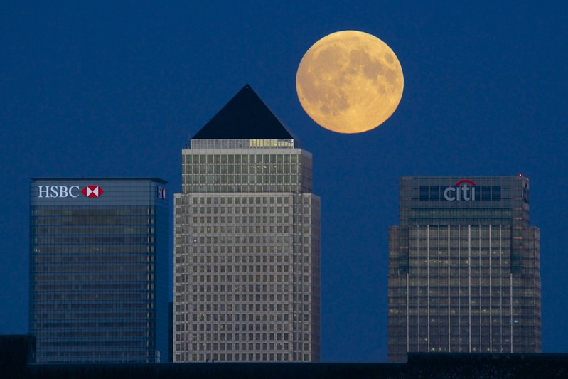 Supermoon London