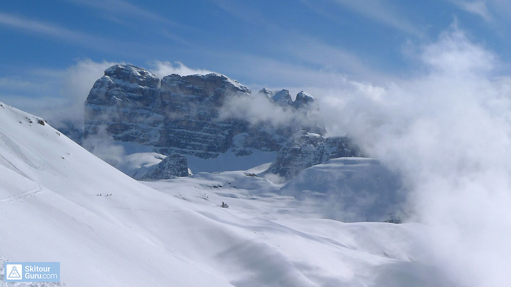 Tre Cime / Drei Zinnen (Day 5 H.R. Dolomiten) Dolomiti Italien foto 01