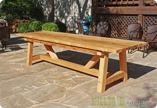 Patio Furniture Woodworking Plans