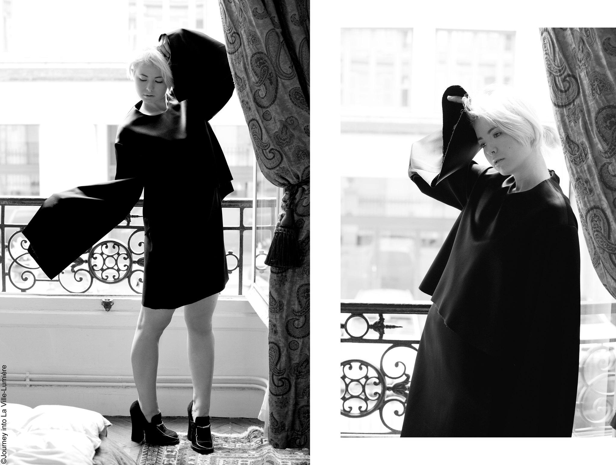 Photoshoot for ELLERY, Paris
