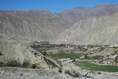 rivière perú montagnes