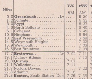 New Haven 1949 Greenbush Boston