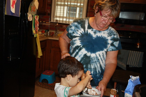 Grandma Visits- Sept 2015