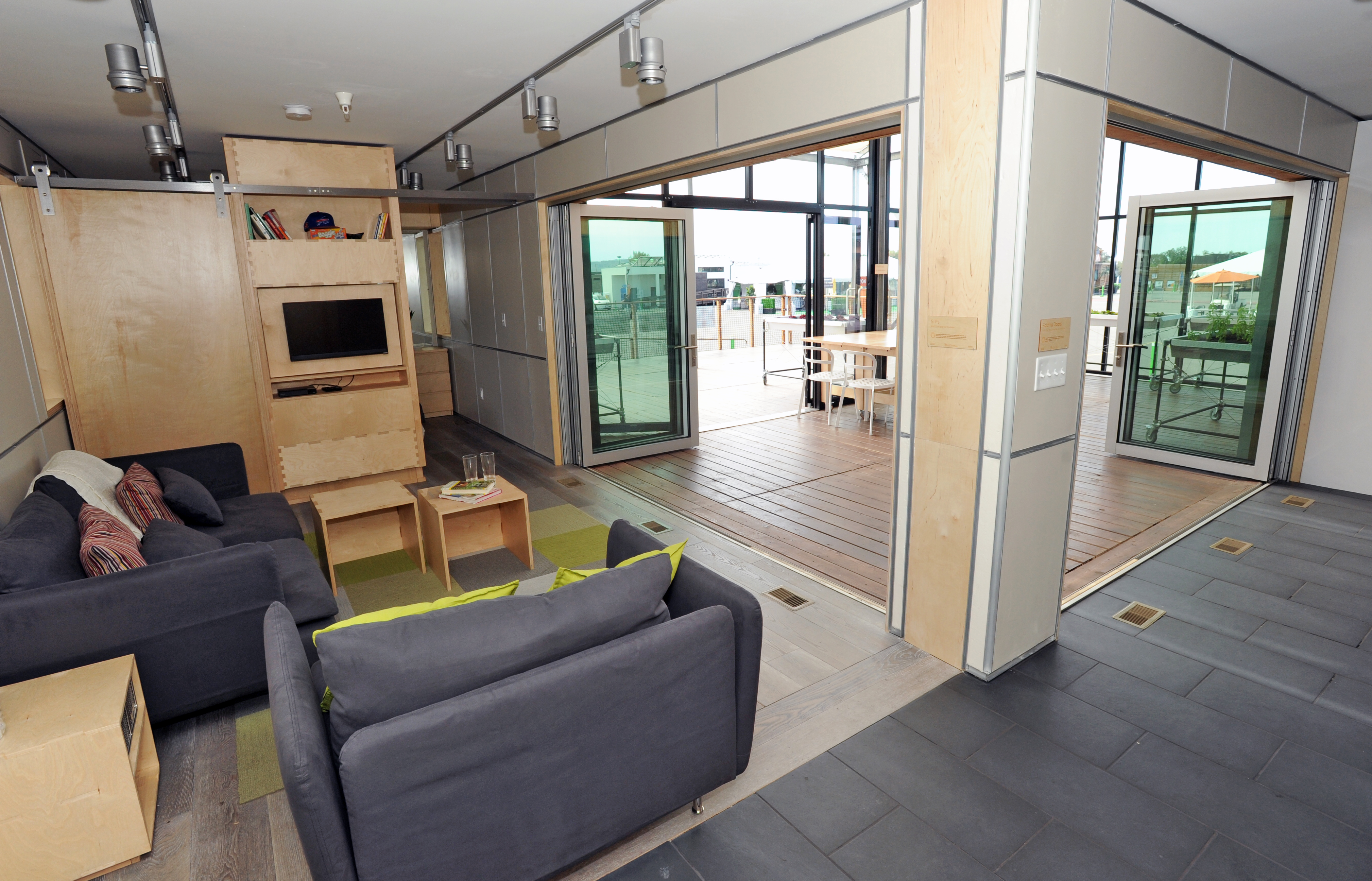 Interior Of The University At Buffalo State New York US Department Energy Solar Decathlon 2015 Orange County Great