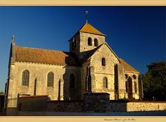 Église St-Maur de Courmelois (Val-de-Vesle, Marne, Champagne, France)