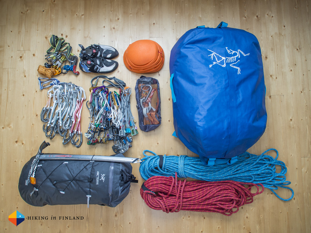The Arc'teryx Carrier Duffle 100 is a Monster that swallows massive loads