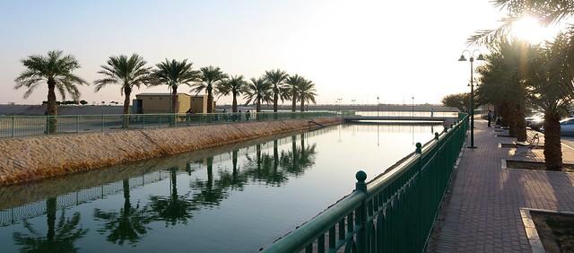 mubazzarah park dam al ain
