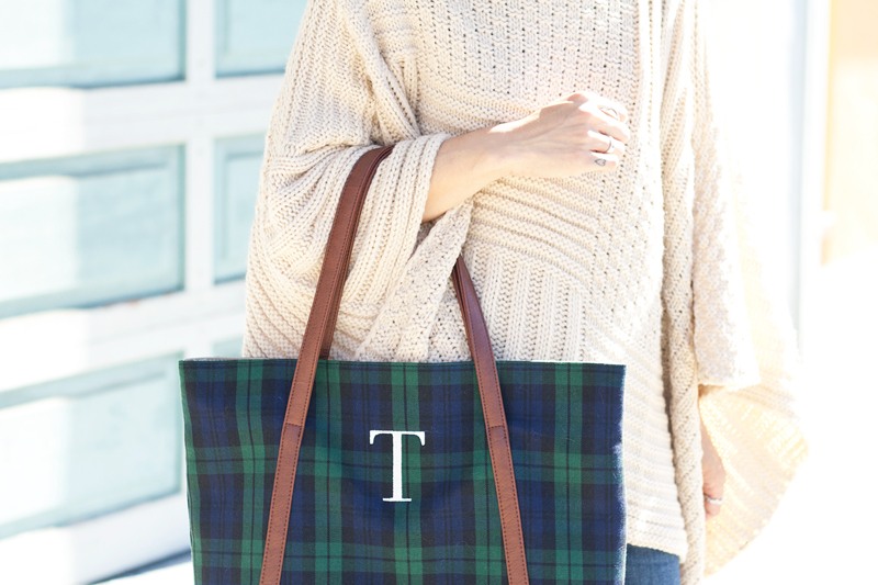 08-sf-knit-poncho-plaid-tote-fashion-style