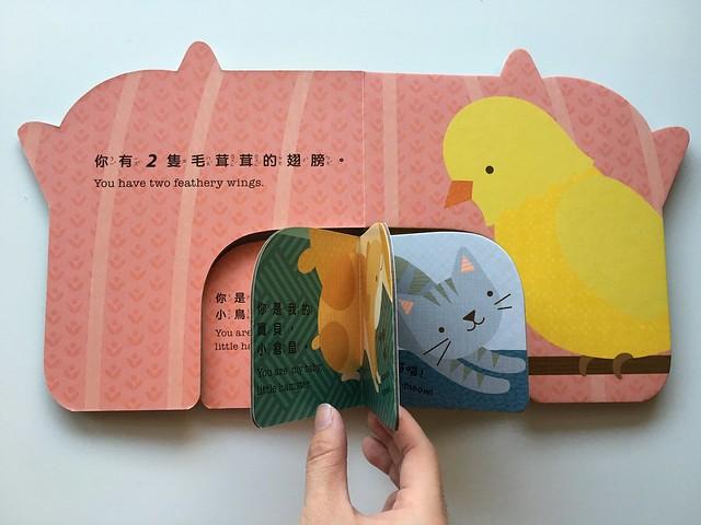 大書裡頭包著小書的翻翻書設計@《你是我的寶貝!可愛動物》
