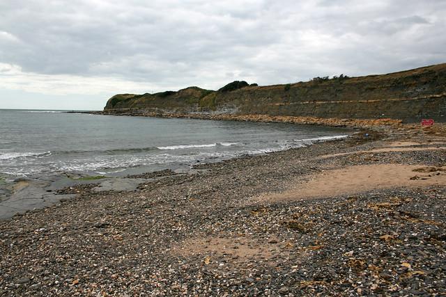 The beach at Kimmeridge