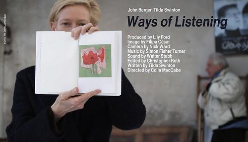 映画『Way of Listening』より ©2013, The Derek Jarman Lab