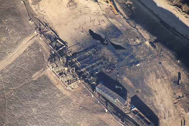 Image of Aliso Canyon wellpad