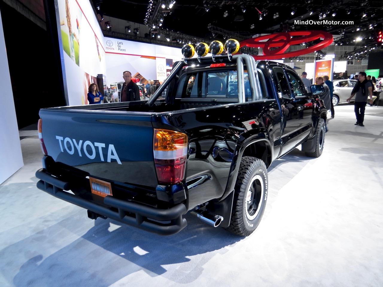 Back to the Future Tacoma SR5 Rear