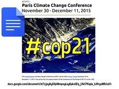 Google Docs: Paris Climate Change Conference